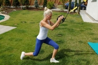 <strong>Exercise outdoors</strong> with a personal trainer