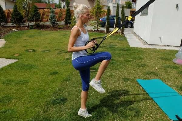 Cvičení v přírodě s osobním trenérem